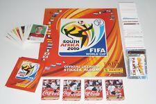 PANINI WM 2010 Südafrika 10 - Komplettset + Album + 4 Klose + 80 Updates + Tüte