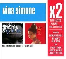 X2: Nina Simone Sings the Blues/Silk & Soul (2008) New Condition