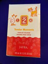 Jafra 124 Tender Moments Toddler Cologne Colonia para Niños 3.3 fl oz ~ Sealed