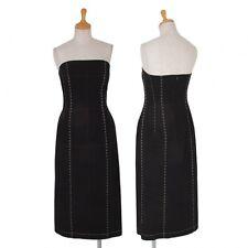 Yohji Yamamoto FEMME Stitch Bustier Dress Size 2(K-51560)