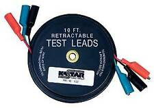 Lang Tools 1129 Retractable Test Leads - 3 Leads X 10 Ft.