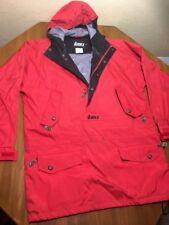 Vtg Nordica Men's M Red Nylon Hooded Pullover Ski Snowboard Jacket Coat