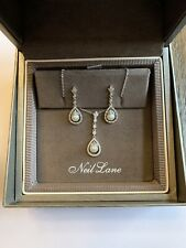 Neil Lane Pearl Necklace and Earring Set