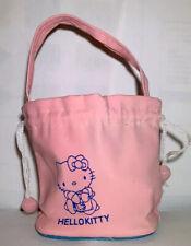 EUC Hello Kitty Pink Mini Pouch Drawstring