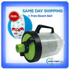 Kokido H/Duty In-Line Leaf Canister - Suits most pool cleaners + Free Beach ball