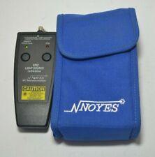 AFL NOYES VFI2 LIGHT SOURCE 2.5MM FIBER OPTIC TEST EQUIPMENT AFL VFI 2