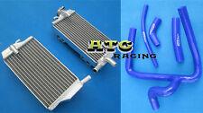 For Honda CR250 CR250R CR 250 R 2002-2004 2002 2003 2004 radiator and hose BLUE