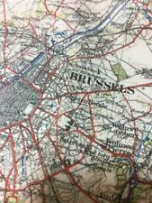 More details for belgium brussels ww1 map brussels belgium 1910 os print of gsgs 2364 bef map