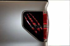 Custom Vinyl Rear Decal Brakelight Cover CLAWS Wrap Kit for Ford F-150 2009-2014