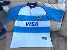 Topper Argentina Home Rugby Union Shirt Season 2001-02 Size XL Great Condition