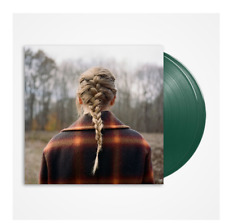 Taylor Swift - Evermore // 2xLP Vinyl limited on GREEN Deluxe presale