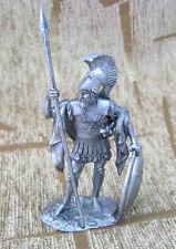 Greek Hoplite 54 mm Tin Miniature sculpture Action Figurine Toy soldier 1:32