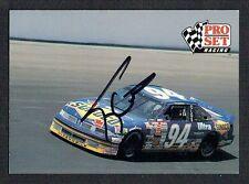 Terry Labonte #82 signed autograph auto 1991 Pro Set NASCAR Trading Card