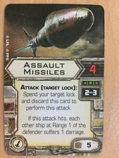 Star Wars X Wing Upgrade Card Assault Missiles