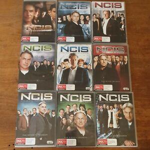 NCIS Season 1-9 DVD R4 Like New! FREE POST 1 2 3 4 5 6 7 8 9