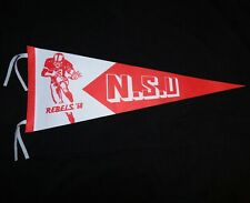 New Retro Throwback 1968 N.S.U. UNLV REBELS College Football Full Size Pennant