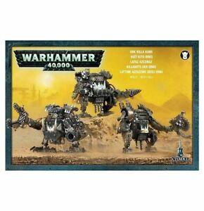 WARHAMMER 40K - ORK KILLA KANS BNIB