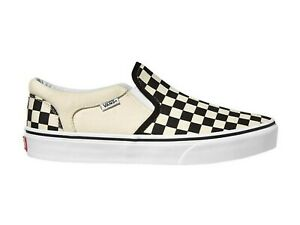 SCARPE SLIP ON UOMO VANS  VSEQIPD  ASHER BLACK/NATURAL