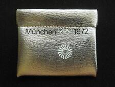 Olympia 1972 Geldbörse 46 JAHRE alt wie NEU München Olympische Spiele Etui