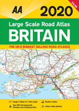 AA Britain Large Scale Road Atlas A3 2020