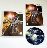 Counter Force Nintendo Wii COMPLETE VIDEO GAME