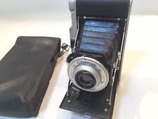 Coronet Rapide Folding Bellows Camera with case