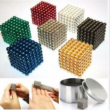 5mm 216pcs Neodymium Magnet Balls Magic Beads 3D Puzzle Ball Sphere, SOLID COLOR