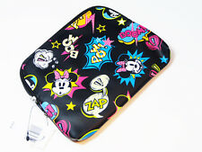 Disney Parks Minnie Mouse Cartoon Print Boom Pow Zap wallet coin purse bag NEW