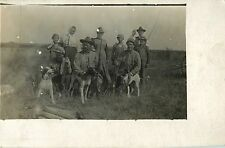 """""""The Whole Family On Hunting Trip, Harold in Front of Dad"""" Silver Creek NE RPPC"""