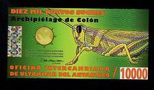 GALAPAGOS ISLANDS 10000 SUCRES  2009  P-NL  UNC.