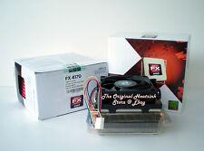 Original AMD Heatsink Cooling Fan FOR AMD FX 4170  4.2 / 4.3 GHz Socket AM3+ New
