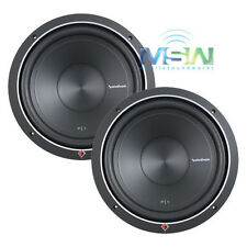 "(2) ROCKFORD FOSGATE P1S4-12 12"" PUNCH P1 4-OHM SUB WOOFERS SUBS 500W RMS *PAIR*"