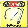 Phonocar 8/533 Cavo Alimentatore Antenna VW Sharan Radio Segnale Amplificato