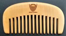 Wide tooth comb wood comb makeup massage beard comb BEARD GENTLEMEN wholesales