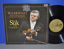Mozart la Violinkonzerte n. 2 + 4 Josef Suk Libor Hlavacek M-VINILE LP Clean