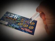 Lottery Ticket Scratcher Keychains Scraper Key Ring Fob