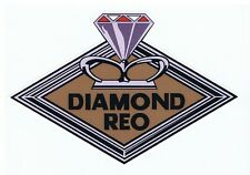 Diamond Reo Truck Vintage Tribute Retro Stickers