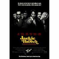 JACKIE BROWN ~ REGULAR ~ 27 X 40 MOVIE POSTER~  Quentin Tarantino
