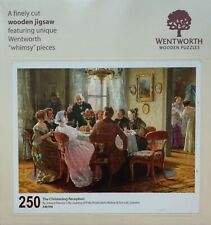 """Wentworth wooden jigsaw puzzle 250 pieces. """"The Christening Reception"""""""