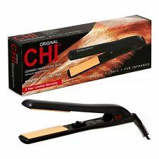 "CHI Original Ceramic Hairstyling Flat Iron Hair Straightener, 1"" - Ships Fast!!"