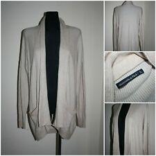 ABERCROMBIE & FITCH Women's size LARGE Knit Wrap Cardigan / Jumper