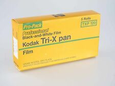 5 Rolls Kodak Tri X Pan 120 Rollfilm ISO 320 Ablaufdatum EXPIRED 12/1987