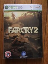 Far Cry 2 Steelbook Edition (Microsoft Xbox 360, 2008) Complete PAL