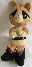 SHREK PUSS IN BOOTS Cuddly Soft Beanie Plush Toy