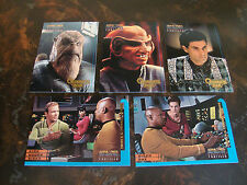 1997 Skybox--Star Trek DS9--Profiles--Quarks Bar & Trials & Tribble-Ations---Lot
