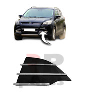 Pour Ford Kuga 2013 - 2016 Neuf Avant Pare-Choc Côté Grille Noir / Chrome Gauche