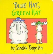 Blue Hat, Green Hat (Brand New Board Book) Sandra Boynton