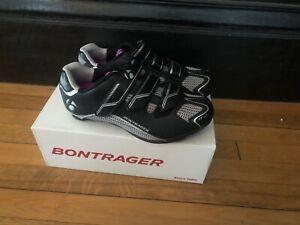New BONTRAGER Women's Solstice Road/Spin Shoes Sizes 36EU, 5US or 37EU, 5.5US