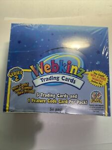 Webkinz Unopened Box Of Trading Cards - Series 2 - New In Sealed Box - 36 PACKS