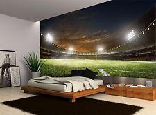 Football Soccer Stadium Night Lights Wall Mural Photo Wallpaper GIANT WALL DECOR